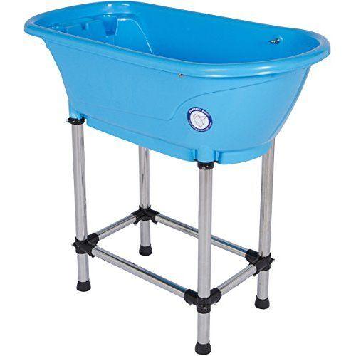Amazon Com Flying Pig Pet Dog Cat Portable Bath Tub Royal 37 5