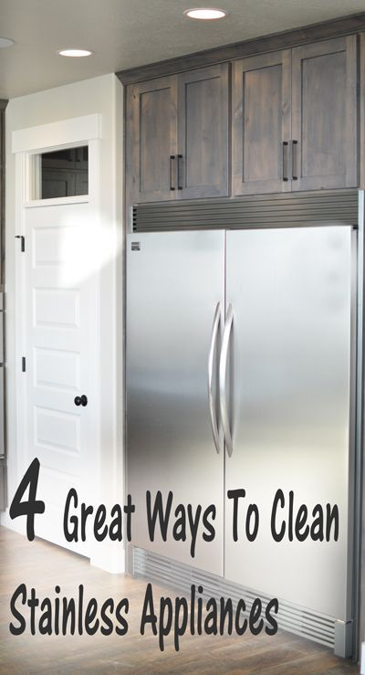 Stainless steel appliances look so nice when they're clean, but look horrible when they're covered in smudges and grease. Here are some ways to get them clean, and keep them clean. 1. Bar Keepers f...