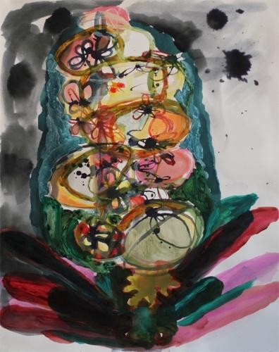 Elizabeth Terhune : Conditions, Paintings