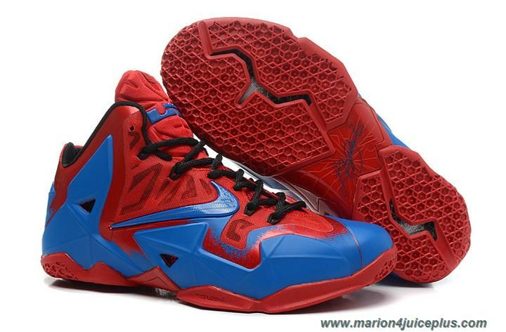 Discover The For Sale Nike LeBron 11 Custom Red Blue Collection At Footseek Shop Black Grey And More