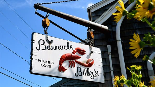 Eat at Barnacle Billy's in Ogunquit, Maine!