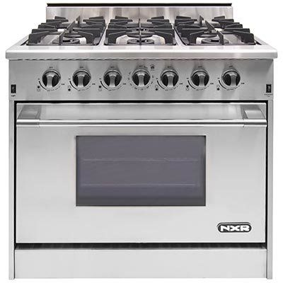 "Verona 36"" - Gas Double Oven Range - 2 Convection Ovens, Stainless Steel You'll Love 