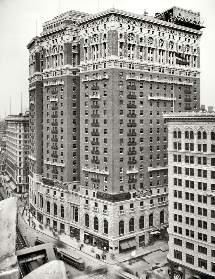 Hotel Mcalpin Herald Square In New York 1912