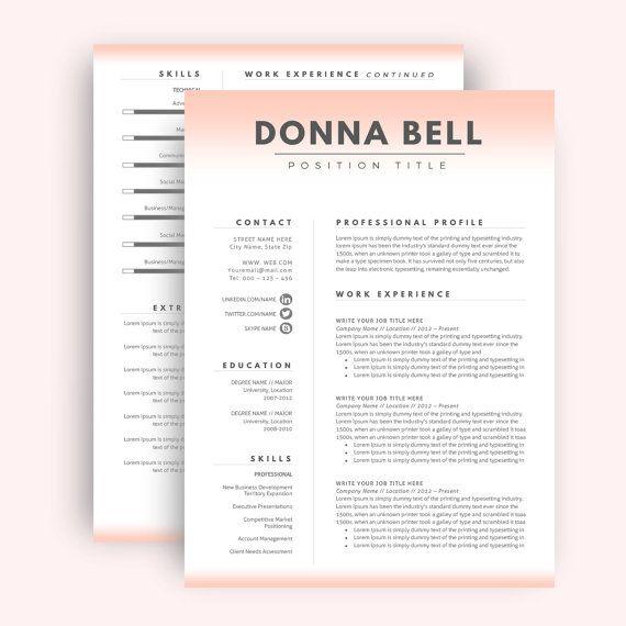 1000  ideas about teacher resume template on pinterest