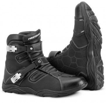 Firstgear Kathmandu Lo Cut Waterproof Mens Street Riding Motorcycle Boots