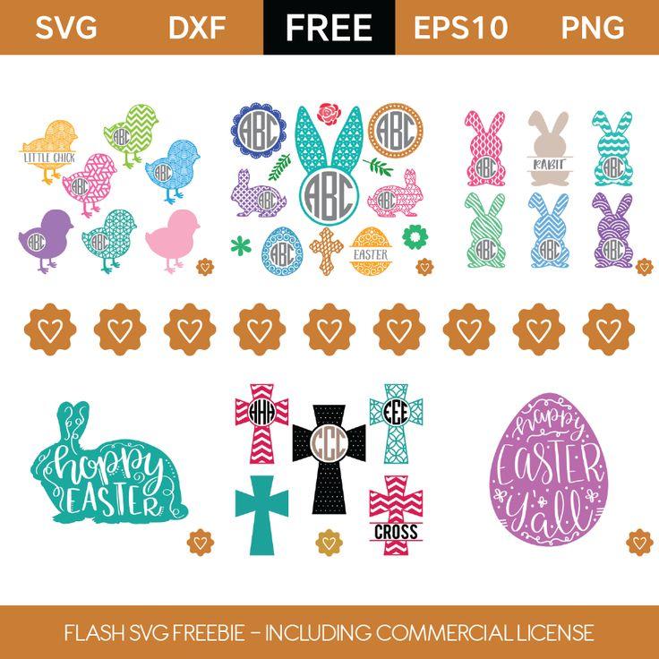 Download Flash Freebie - Free Commercial License | Easter svg ...