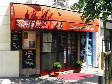 chez papa address 206 rue lafayette 10th arrondissement metro louis blanc open mon sun 9 00. Black Bedroom Furniture Sets. Home Design Ideas