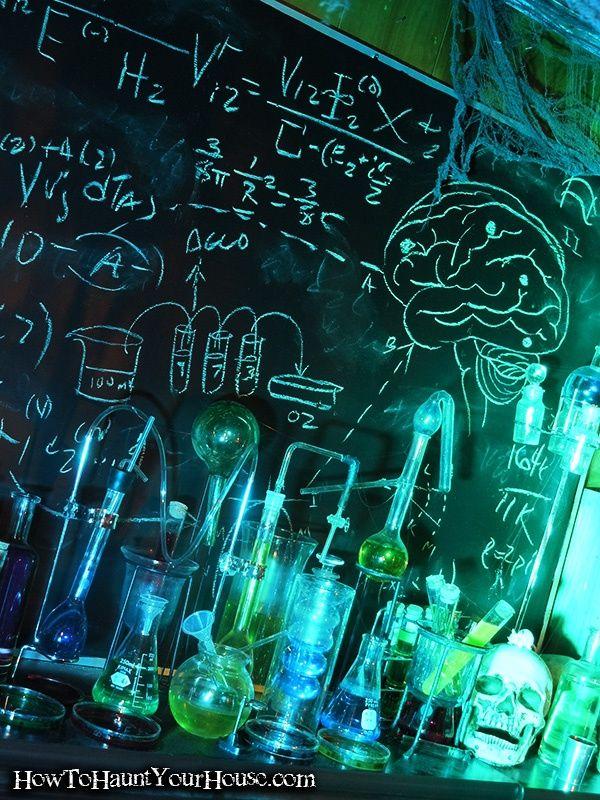 mad scientist halloween decorations   Mad Scientist Lab