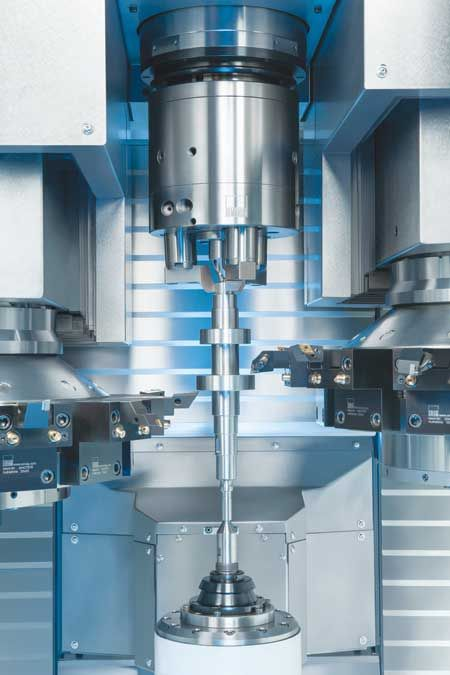 Vertical Turning Machine for Large Volume Gearbox Production