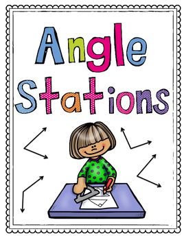 These stations are a great review for measuring angles, creating angles, naming angles & lines, and categorizing angles.  Students can work in small groups to complete teach task.  Many of the handouts can also be used as individual handouts.  An answer key is included.