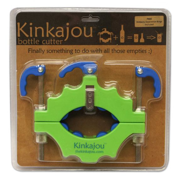 Kinkajou Bottle Cutter Kit for Cutting Glass and by DelphiGlass