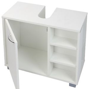 Bathroom Cabinet Under Sink Cupboard Basin Storage Unit Furniture