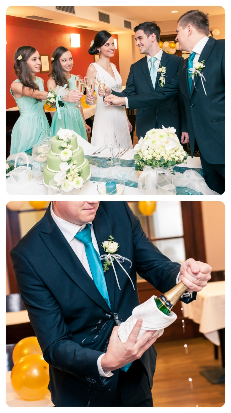 Wedding toast, wedding party