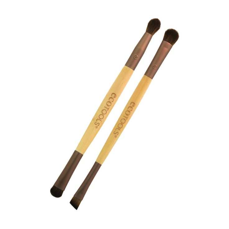 EcoTools Eye Enhancing Duo Set 0065486 Earth friendly beauty from Eco Tools. Duo set contains a Shade  Define brush and a Blend  Smudge Brush. Apply shadow to your eyelids and then define your eyes with the defining brush. Blend your eye http://www.MightGet.com/may-2017-1/ecotools-eye-enhancing-duo-set-0065486.asp