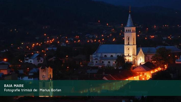 Baia Mare. Poza primita de la Marius Borlan.  28 de poze frumoase cu orase din Romania (partea 2).  Vezi mai multe poze pe www.ghiduri-turistice.info