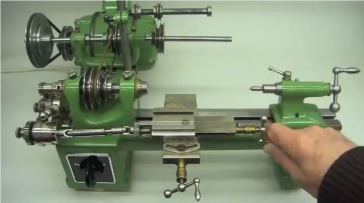 Lorch Kd 50 Mini Lathe For Making Precision Watch Parts