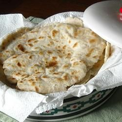 Authentic Mexican Tortillas from Allrecipes.com.  The best and easiest tortillas I've made and FAR superior to anything I've found in mainstream grocery stores.  I have to cook them one at a time, but the result is always worth it!  @Helga Elsesser