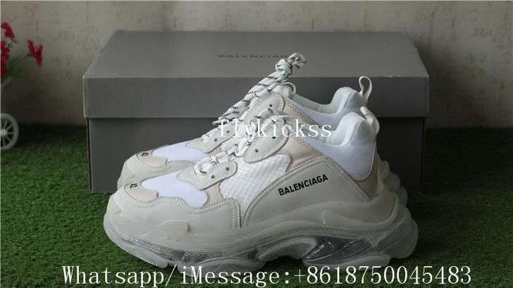 black palms hm mididress balenciaga triple s ugly sneaker
