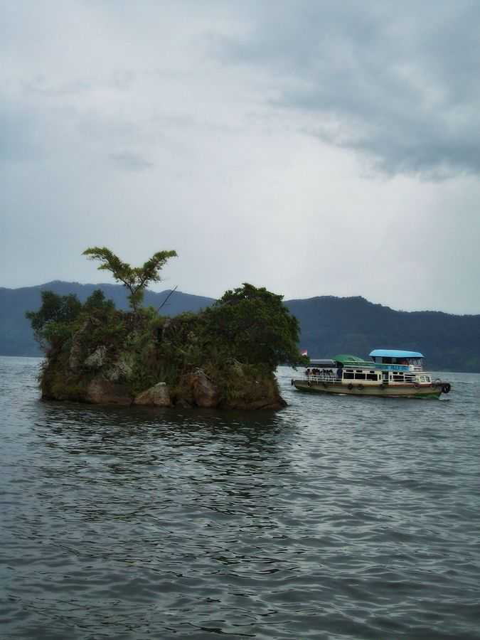 very small island? a view from samosir island