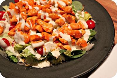 Bohemain Jones: Buffalo chicken salad. I want to make this with fresh mozzarella!