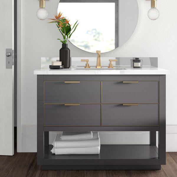 Wilbanks 43 Single Bathroom Vanity Set With Images Single