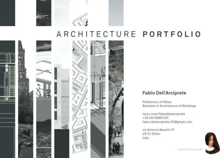 New Ideas Architektur Portfolio Architektur Portfolio Layout Architektur
