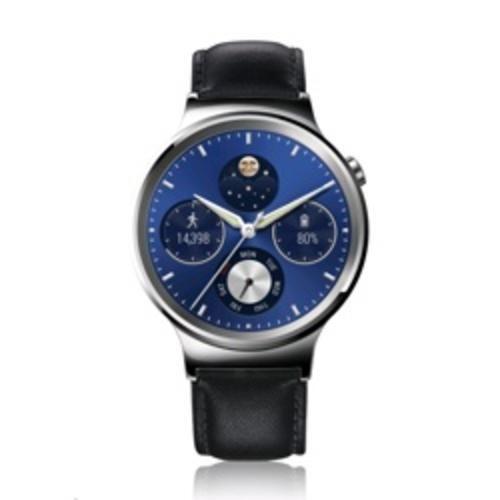 Huawei orologio con cinturino in vera pelle silver 39900 - Prezzo