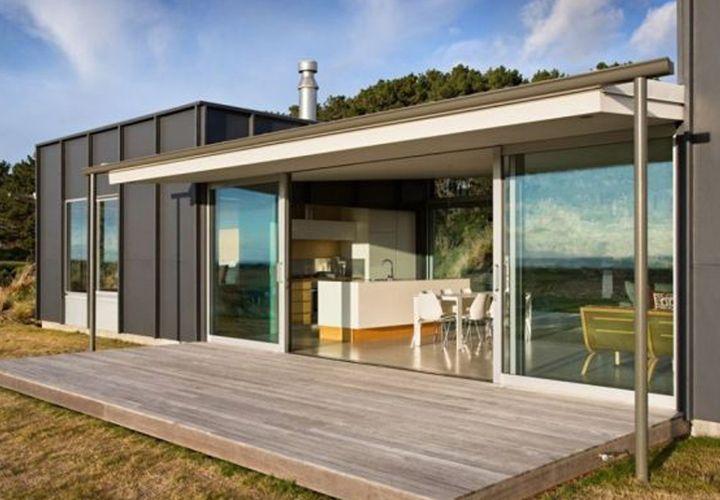 Modern Prefab Homes Under 100k Modern house plans Pinterest