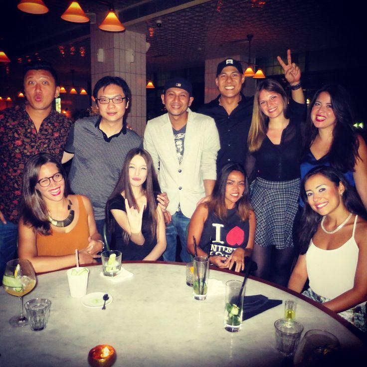 Jakarta and Manila united... Good times, good company! @eandojakarta #reunion #dinner #manila