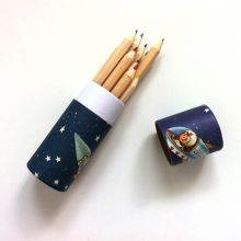 Μολυβοθήκη+με+12+ξυλομπογιές+'Spaceboy'
