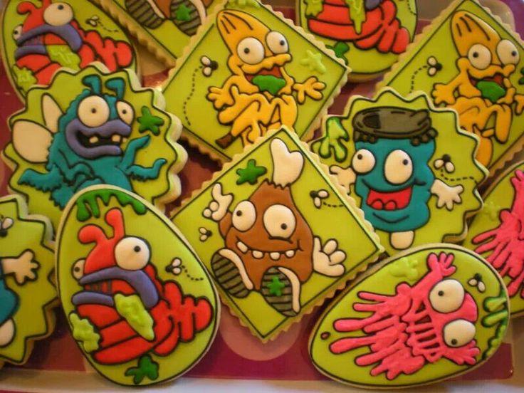 Trash Pack birthday cookies