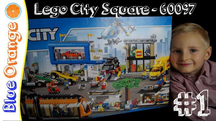 LEGO City 60097 City Square #1: Tram and Tram Stop. Blue Orange