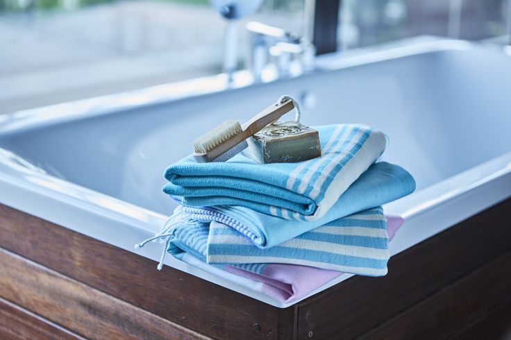 Feel the tradition in Turkish Hammams with 100% cotton classic Turkish Bath Towels. These Luxury Bath Towels are ultra absorbent and elegant with many color options.