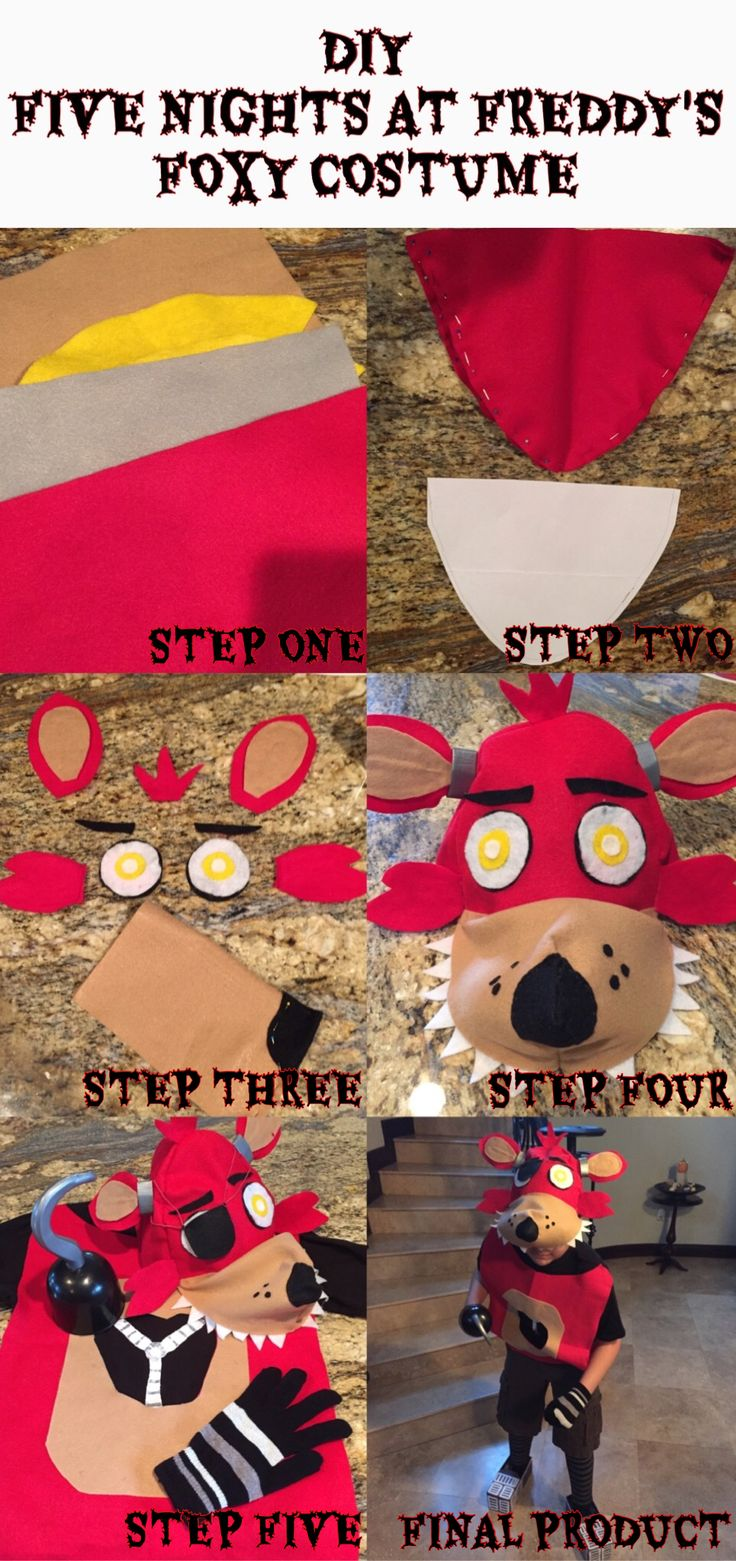 DIY Five Nights at Freddy's Costume