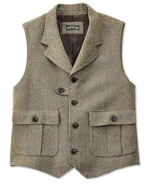 Just found this Herringbone Tweed Vest For Men - Herringbone Pocket Vest -- Orvis on Orvis.com!