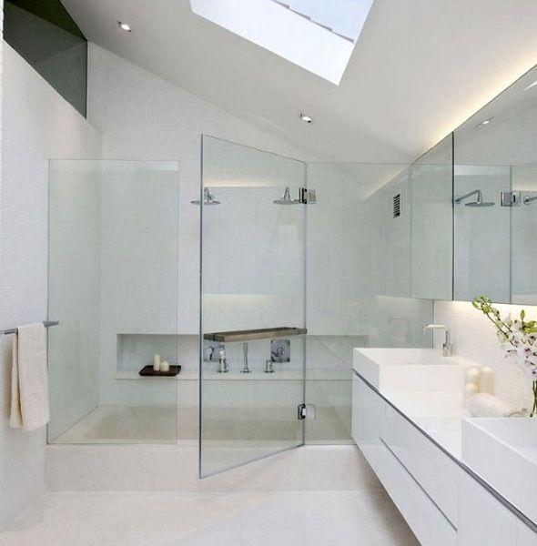 36 best Bad inspo images on Pinterest Bathroom, Concrete bathroom - refaire un plafond de salle de bain