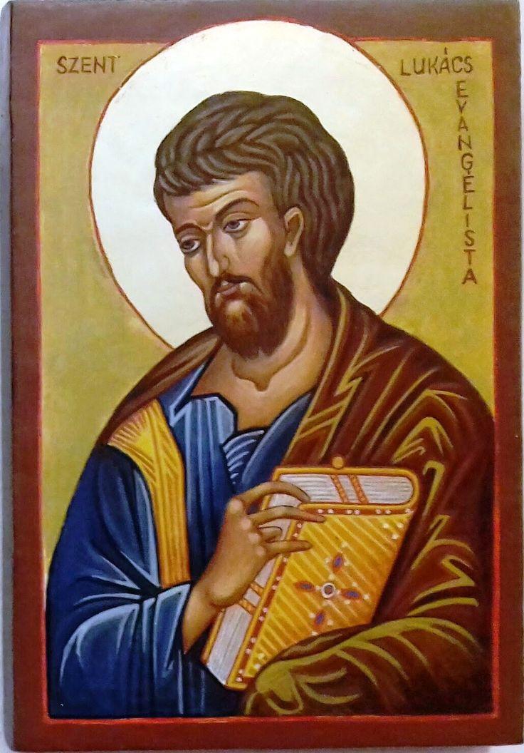 Szent  Lukács  evangélista Görögországi ikon