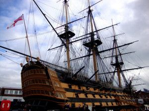 The city with a Royal naval history. Portsmouth