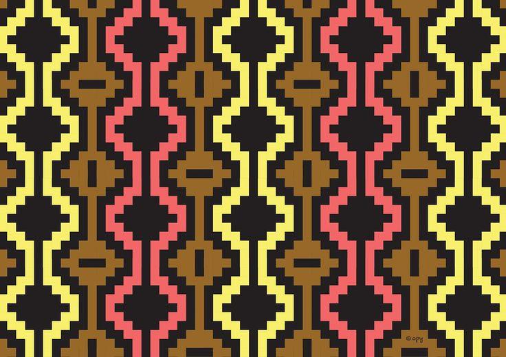 Opys Pattern Project: #22 Mapuche