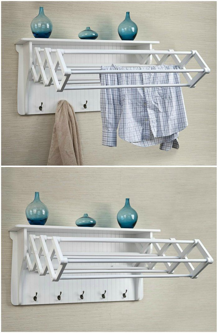 10 space-saving drying racks for small spaces - Living in a shoebox  #laundry