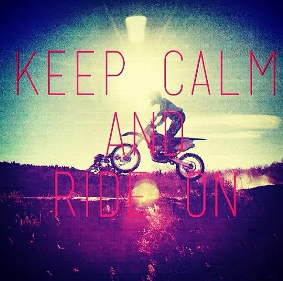 Keep calm and do what you love #motocross #supercross #ride #dirtbike
