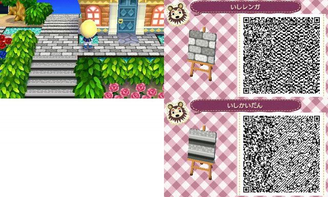Bodendesigns QR Codes – Animal Crossing New Leaf