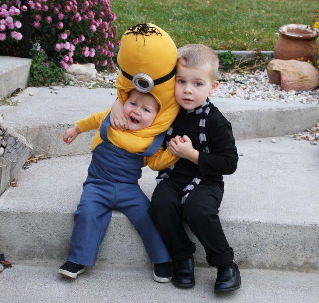 Running With Scissors: Gru and Minion Halloween Costume