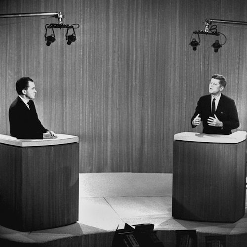 12 Important Steps In The History Of Television1960 - The First Televised Presidential Debate