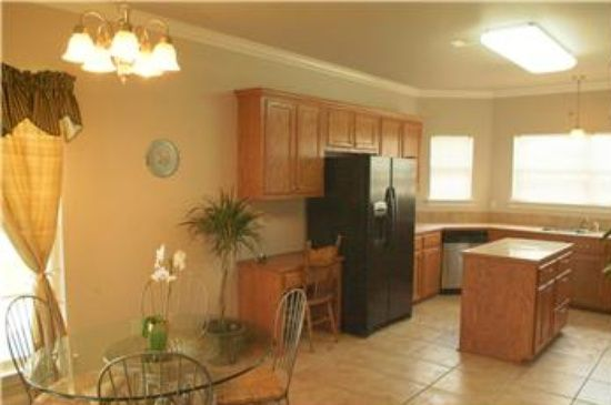 Baton Rouge Apartments  : Choose Your Location: Breathtaking Baton Rouge Apartments With Best Kitchen Remodeling Stainless Refrigerator Diy Kitchen Cabinet Also Kithcne Light Fixtures As Well Round Dining Table With Vase Flower ~ surrealcoding.com Apartments Inspiration