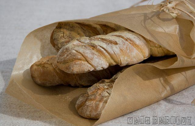 Bagietki pszenno-żytnie