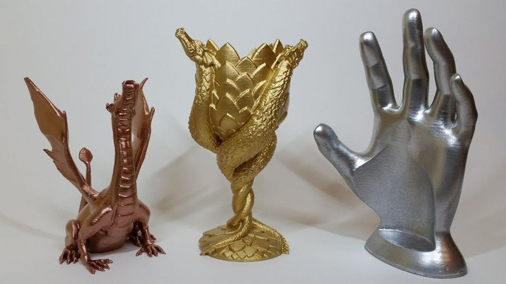 #VR #VRGames #Drone #Gaming Spray Painting 3D Prints - Bronze, Silver, Gold Colour Paint 3d print, 3d printer, 3d printing, adalinda, Bronze Spray Paint, Brozne, dragon, Drone Videos, game of thrones, Gold, Gold Spray Paint, House of Targaryen, painting 3d printed objects, silver, Silver Spray Paint, Spray Painting, Spray Painting 3D Prints, Targaryen, Wine Holder Hand #3DPrint #3DPrinter #3DPrinting #Adalinda #BronzeSprayPaint #Brozne #Dragon #DroneVideos #GameOfThrones #G