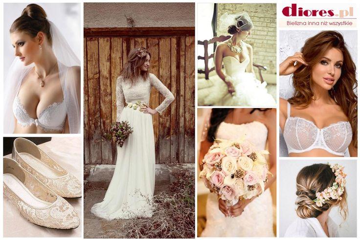 Ten wyjątkowy dzień wymaga specjalnej oprawy. Zobacz naszą bieliznę ślubną na www.diores.pl i poczuj się wspaniale jako Panna Młoda. #bielizna #bieliznadamska #bieliznaślubna #ślub #pieknabielizna #figi #biustonosz #gorset #pończochy #erotycznabielizna