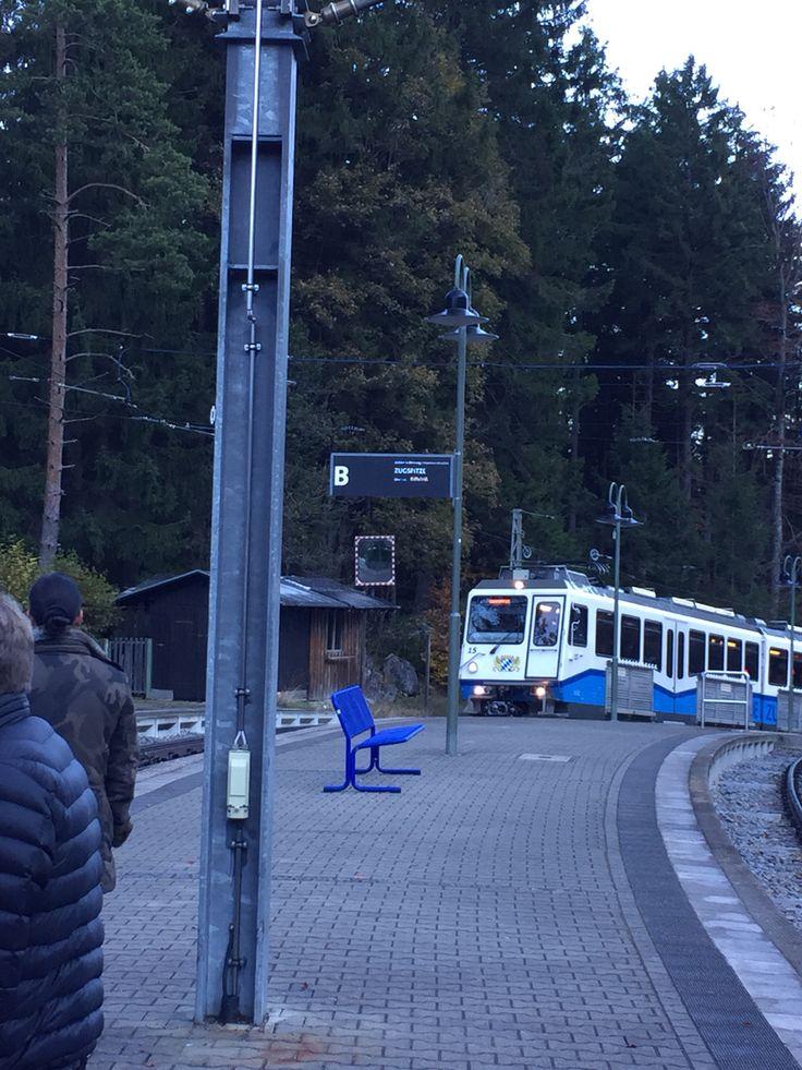 Zahnradbahn ab Eibsee