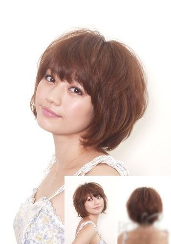Short+Hairstyles+For+Women+Over+50 | Popular Japanese Bob Hairstyles | Hairstyles Weekly